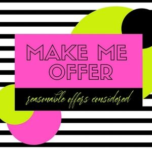 Other - Reasonable offer!